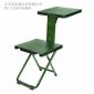 军用便捷式多功能写字椅士兵两用学习凳折叠椅单兵写字椅